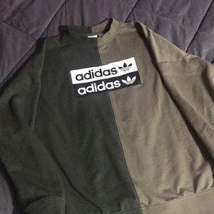 Adidas Split Crewneck